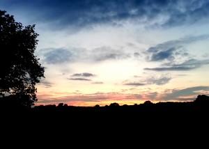 Sunset at Rivar Hill