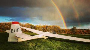 Puchacz and rainbow