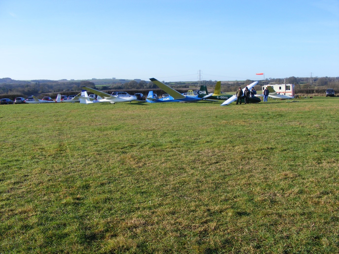 Shalbourne Gliding ridge day
